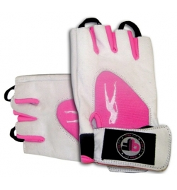 Gloves Pink Fit - White Pink