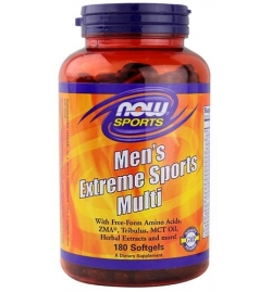 Now Sports Men's Extreme Sports Multi 180 Softgels