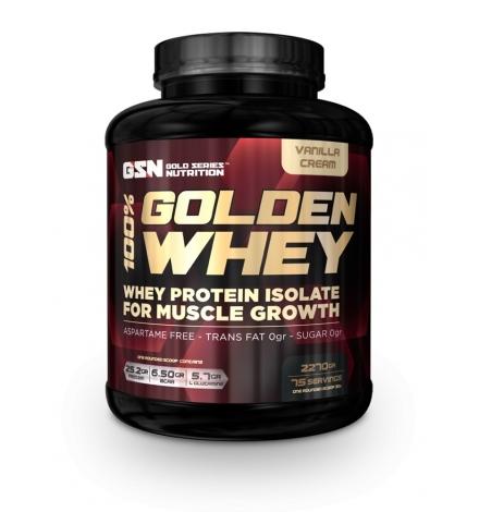 GSN 100% Golden Whey Protein Isolate 2270g