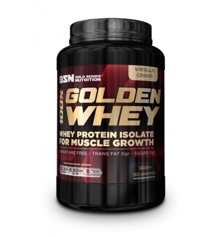GSN 100% Golden Whey Protein Isolate 908g