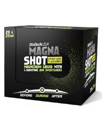 Biotech USA Magna Shot  Box 20 X 25ml