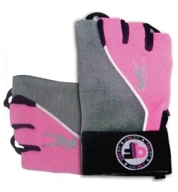 Gloves Pink Fit Grey-Pink