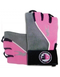 Gloves Pink Fit Grey-Pink