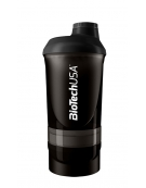 Shaker Wave Neon 3 compartment 600 ml - Biotech
