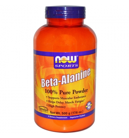 Now Foods Beta Alanine 500 grams