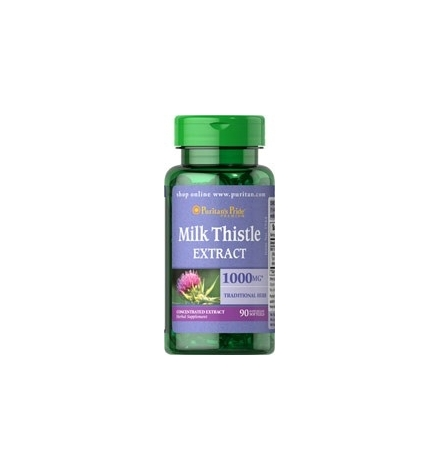 Puritan's Pride Milk Thistle 1000mg Liver Support