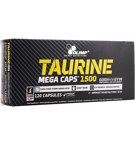 Olimp Taurine 1500mg Mega Caps® 120 Capsules