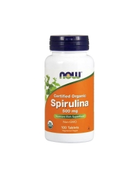 Now Foods Spirulina 500 mg 100 tablets