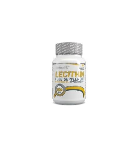 Biotech USA Lecithin 1100mg 55 Capsules