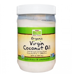 Now Real Food Organic Virgin Coconut Oil 591ml