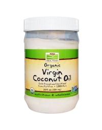 Now Real Food Organic Virgin Coconut Oil 591ml