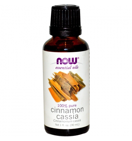 Now Foods Cinnamon Cassia Essential Oil 30 ml