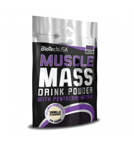 Biotech USA Muscle Mass 4.5kg