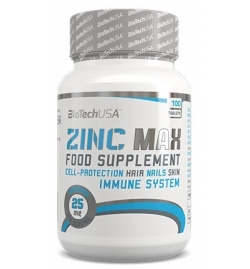 Biotech USA Zinc Max 100 Tablets