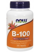 Now Foods Vitamin B-100 100Caps