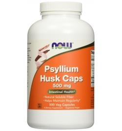 Now Foods Psyllium Husk 500mg 500 Capsules