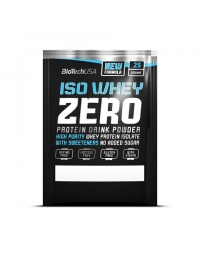 Biotech USA ISO Whey Zero 88% L.G.AS. Free 25G