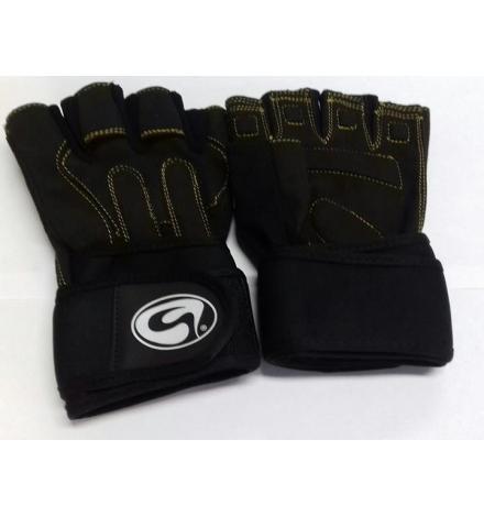 Gloves GSN Art: D-316 Black/Yellow
