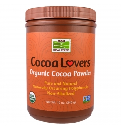 Now Foods Organic Cocoa Powder 340g