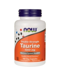 Now Foods Taurine 1000mg 100 Veg Capsules
