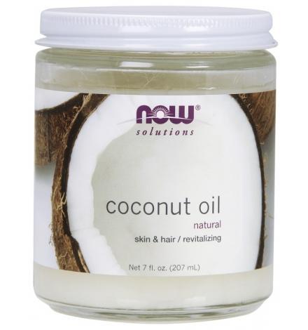 Now Foods Coconut Oil, Skin & Hair Revitalizing 207ml
