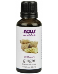 Now Foods Ginger Essential Oil 30ml