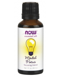 Now Foods Mental Focus Essential Oil 30ml