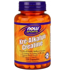 Now Sports Kre-Alkalyn Creatine 120 Caps