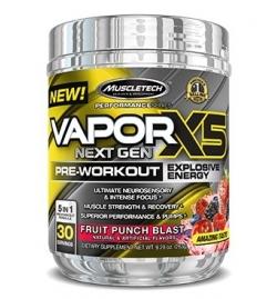 MuscleTech Vapor X5 Next Gen Pre-Workout 30 Serv