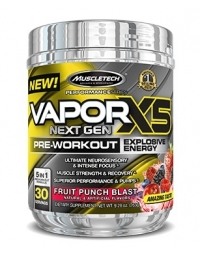 MuscleTech Vapor X5 Next Gen Pre-Workout 30 Serv