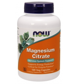 Now Foods Magnesium Citrate 500mg 120VCapsules