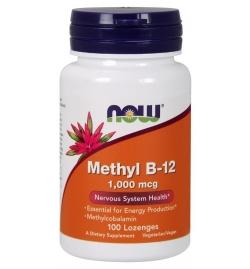 Now Foods Methyl B-12 1.000mcg 100 Lozenges