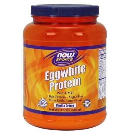 Now Sports Egg White Protein Powder 680g