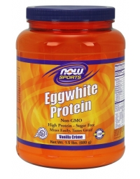 Now Sports Egg White Protein Powder 680g