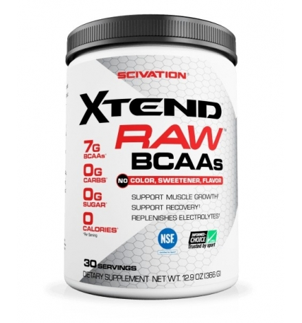 SciVation Xtend Raw Unflavored 30 Servings