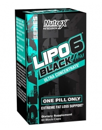 Nutrex Lipo 6 Black Hers Ultra Concetrate 60 Black Caps