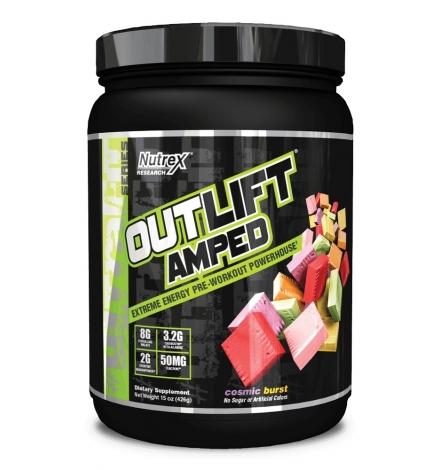Nutrex Outlift™ Amped 444g