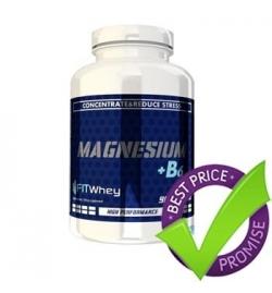 FitWhey Magnesium + B6 90Tabs