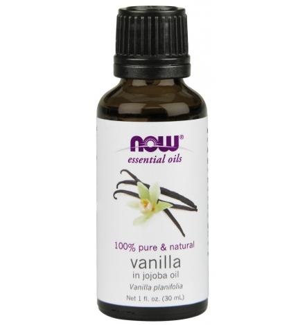 Now Foods Vanilla In Jojoba Essential Oil 30ml