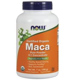 Now Foods Maca Powder  6:1 Concentrate Powder 198 grams