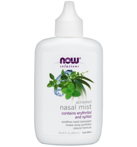 Now Foods Nasal Mist, Activated 59ml