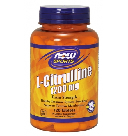 Now Foods L-Citrulline 1200mg 120Tablets