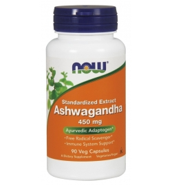 Now Foods Ashwagandha 450mg 90 veg caps