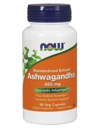 Now Foods Ashwagandha 450mg 90 veg caps