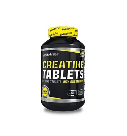 Biotech USA Creatine Monohydrate 200 Chewable Tablets