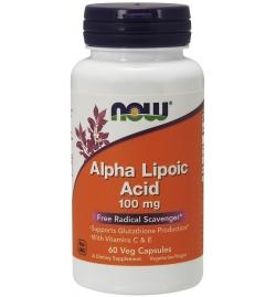 Now Foods Alpha Lipoic Acid 100 mg 60 Capsules