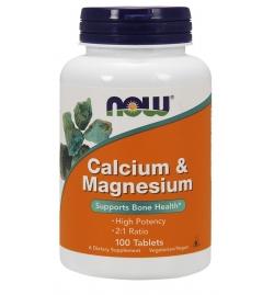 Now Foods Calcium & Magnesium 100 Tabs