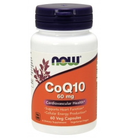 Now Foods CoQ10 60mg 60Veg Capsules