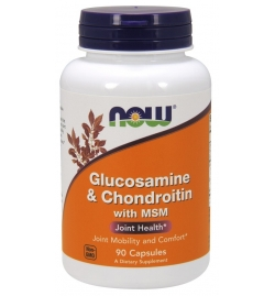 Now Foods Glucosamine & Chondroitin with MSM  90 Caps