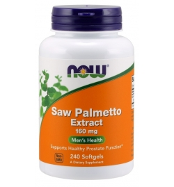 Now Foods Saw Palmetto Extract 160mg 240Softgels